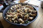 Nowoczesna kuchnia oraz idealna patelnia